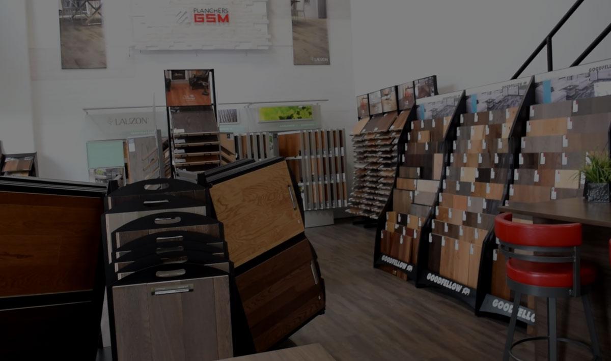 magasin de rev tements de sol plancher bois franc c ramique et lamin plancher gsm. Black Bedroom Furniture Sets. Home Design Ideas
